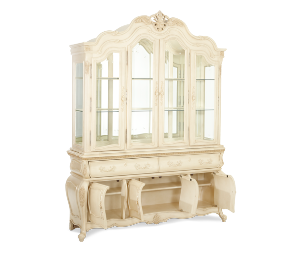 Lavelle China Cabinet by Michael Amini - Gallery Furniture of ...
