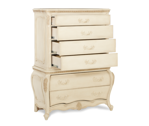 Lavelle Blanc Drawer Chest by Michael Amini
