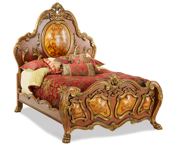 Chateau Beauvais Mansion Bed | AICO Michael Amini