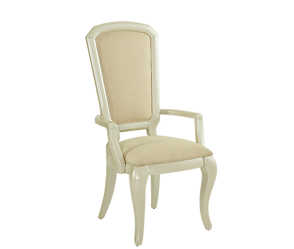 After Eight Pearl Arm Chair by Michael Amini