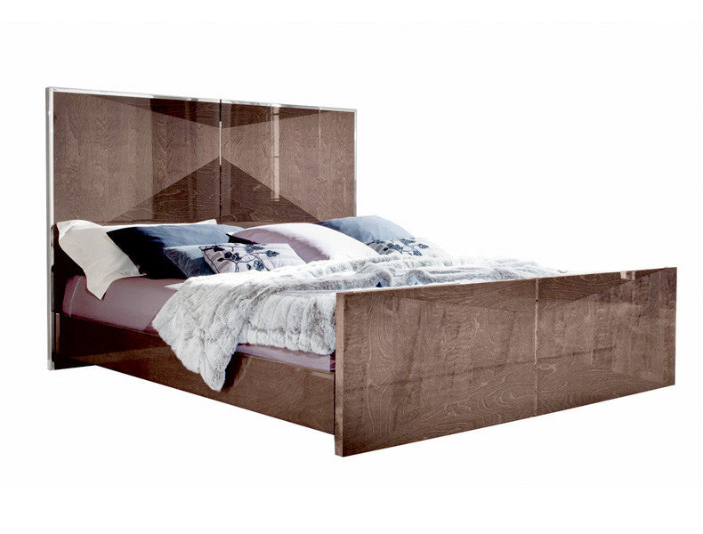 Eva Panel Bed | Made in Italy | ALF Italia