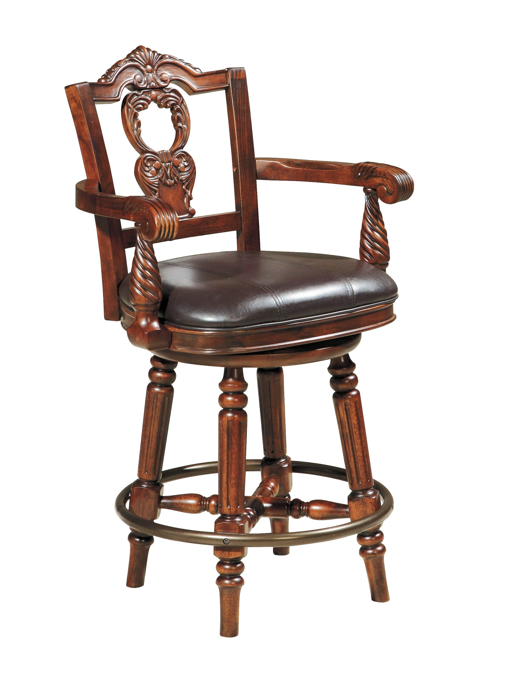 North Shore Counter Height Barstool | Ashley Furniture   Gallery Furniture  Of Central Florida