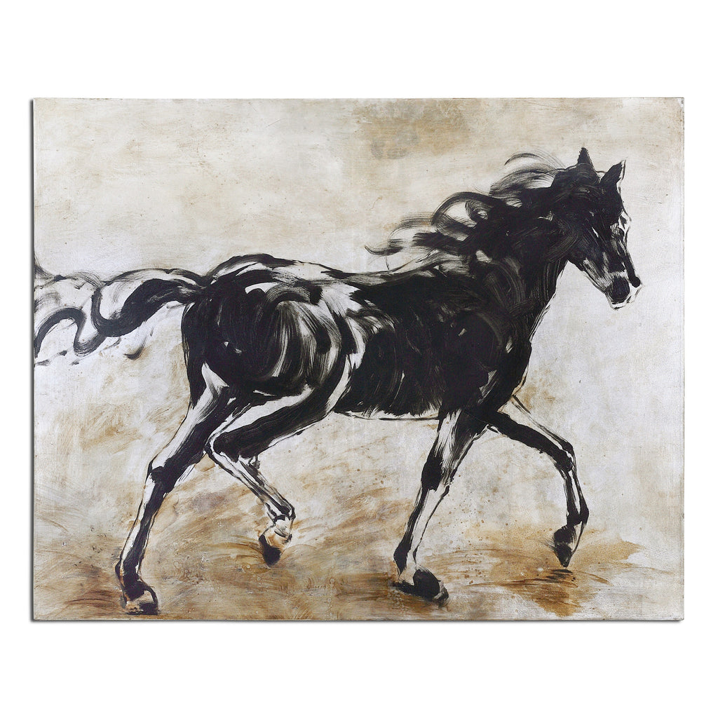 Black Beauty Horse Art