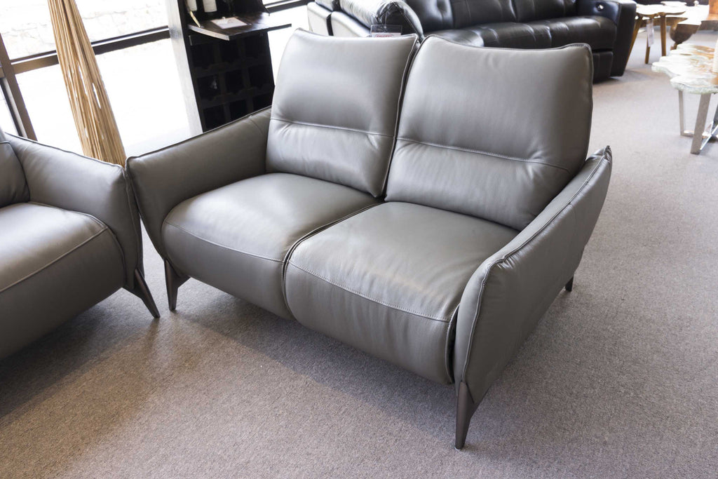 2668 Leather Motorized Reclining Loveseat - $1449