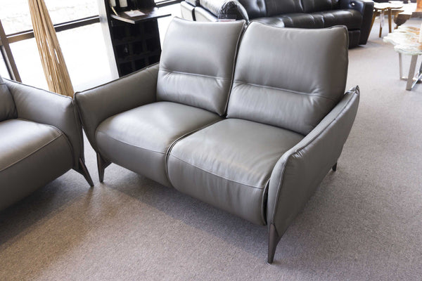 2668 Leather Reclining Loveseat