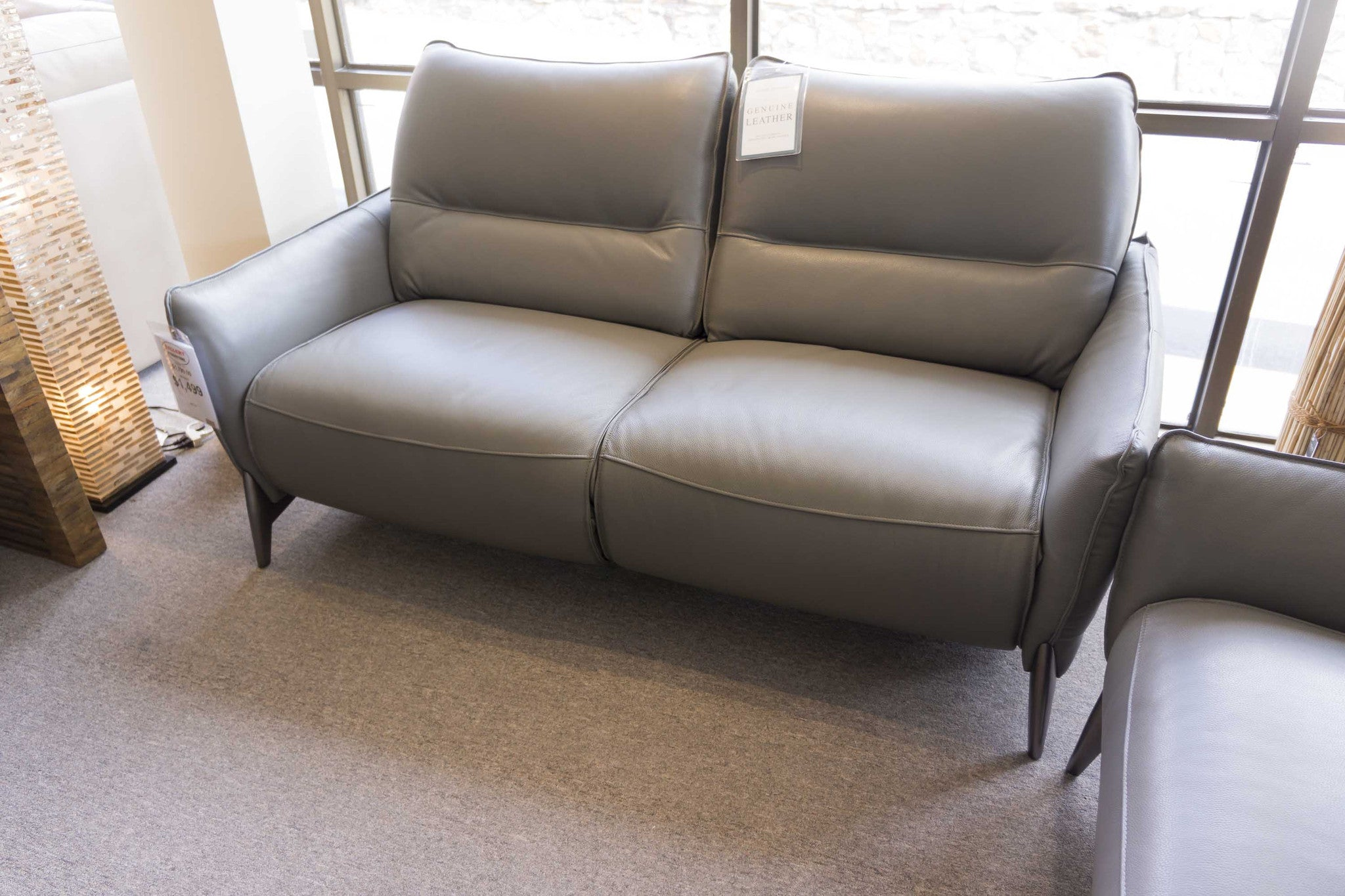 2668 Leather Reclining Sofa Gallery Furniture Of Central