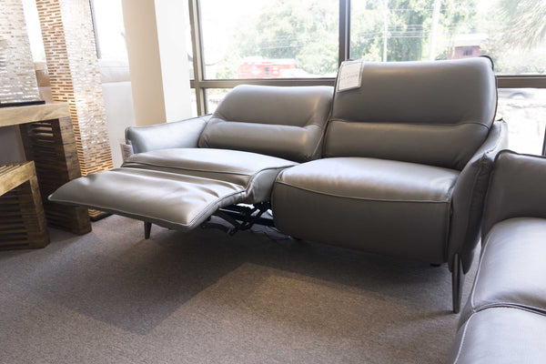 2668 Leather Motorized Reclining Sofa - $1499