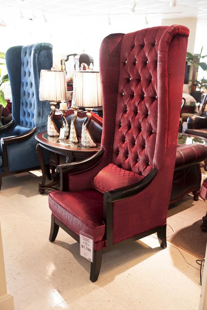 Hollywood Chair, Red
