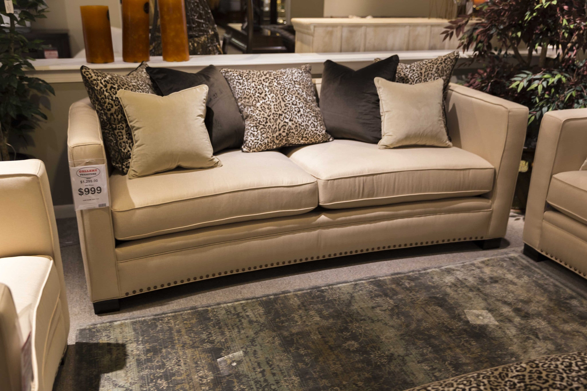 Home Furnishings Della Sofa Magnussen Home Furnishings Gallery Furniture Of