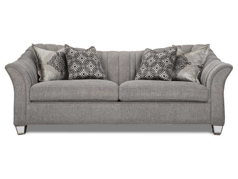 Bette Pewter Sofa | Magnussen Home Furnishings