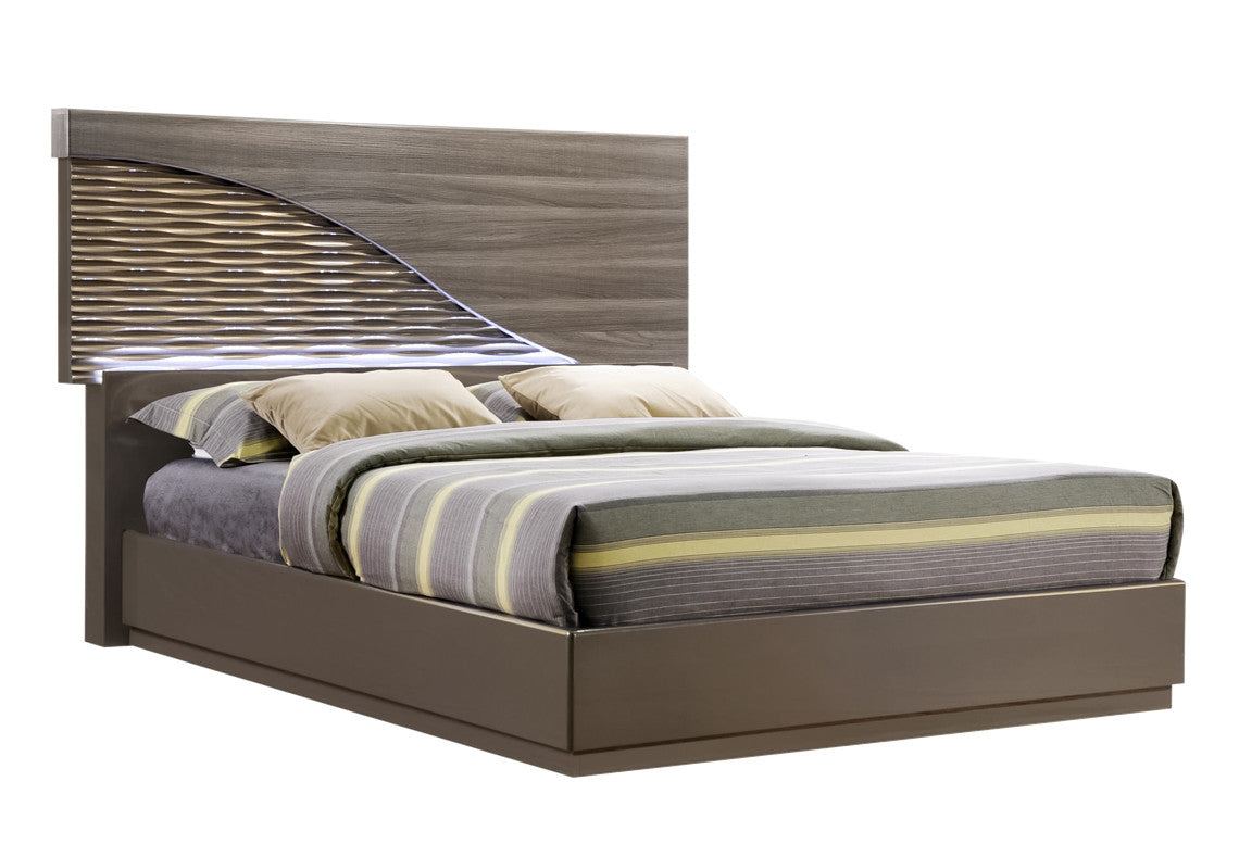 North Bed With LED Light | Global Furniture