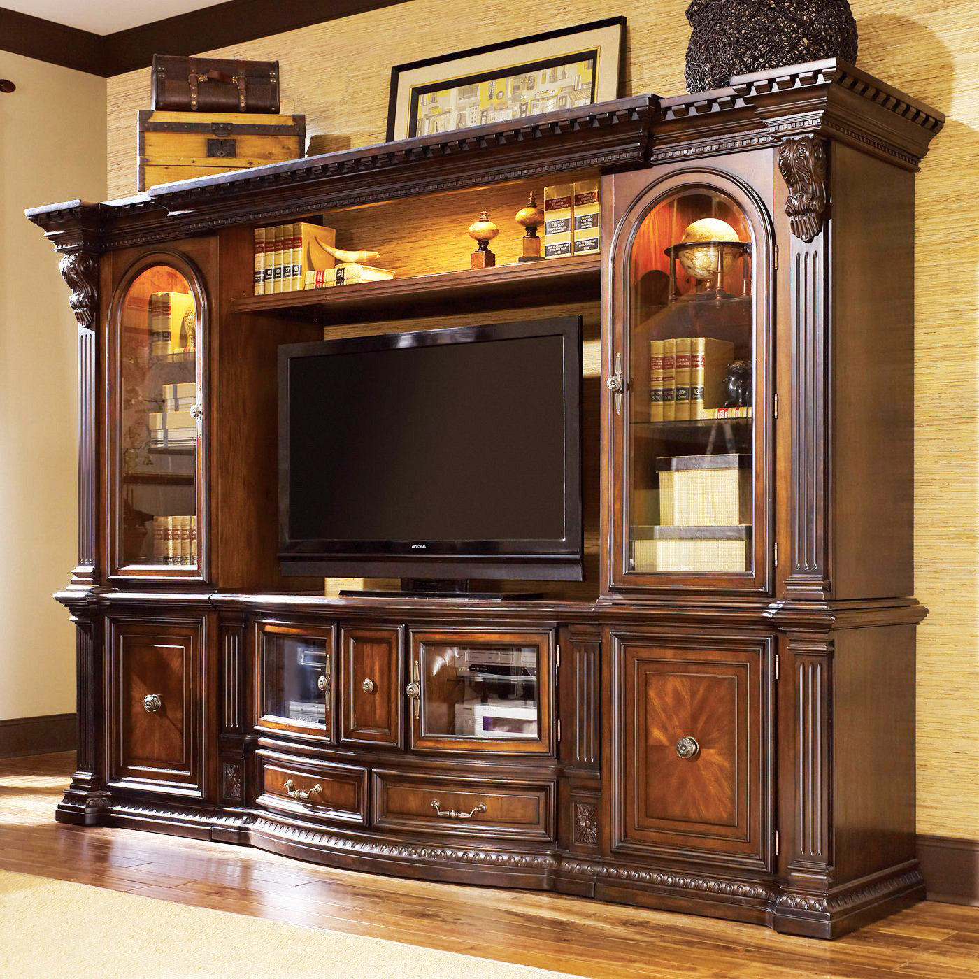 the grand estates entertainment unit - Grand Homes Design Center