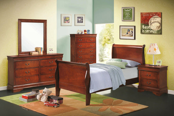Louis Philippe Youth Bedroom