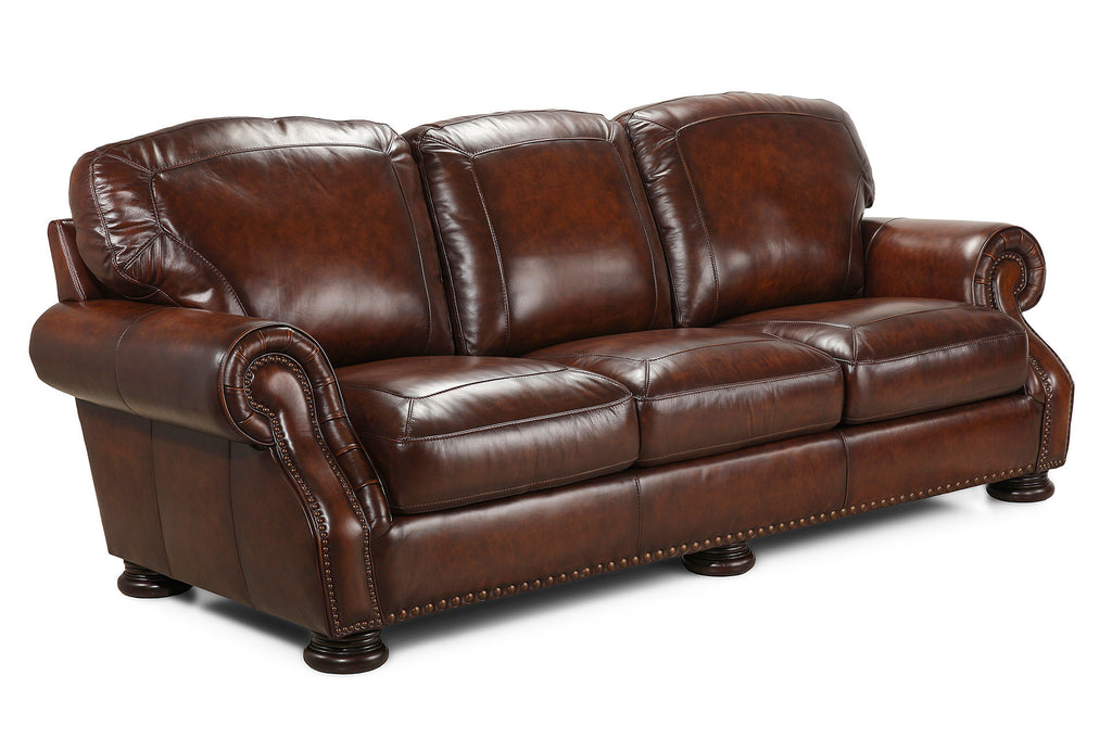 Carlton All Leather Sofa | Simon Li Furniture