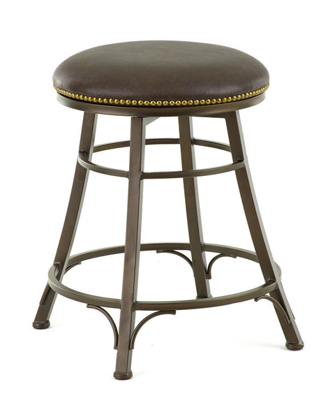 Bali Backless Swivel Counter Height Barstool | Steve Silver Company