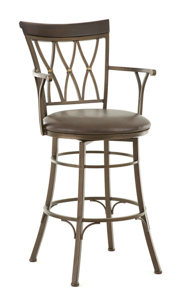 Bali Swivel Bar Height Barstool | Steve Silver Company