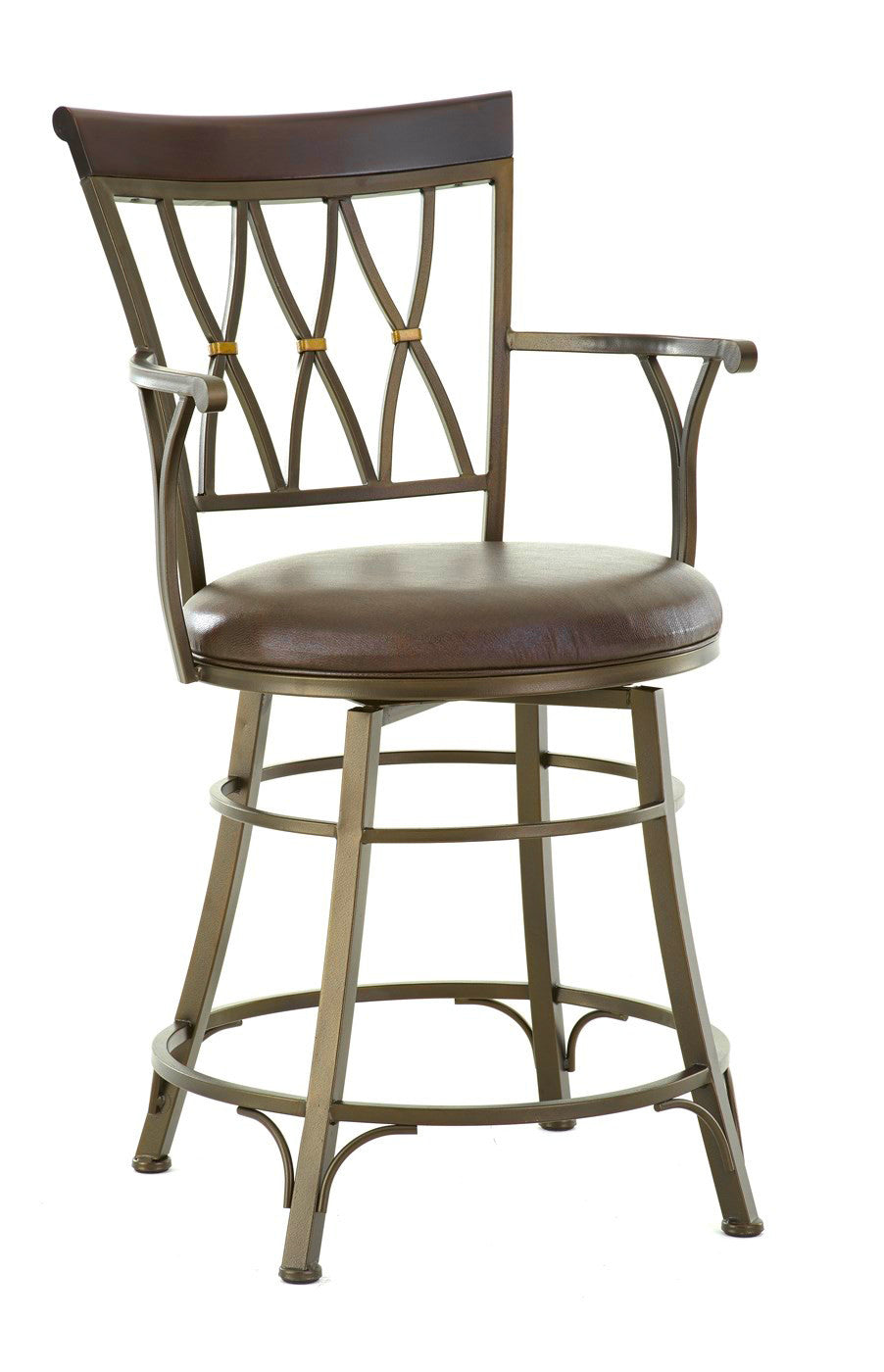 Bali Swivel Counter Height Barstool Steve Silver Company Gallery