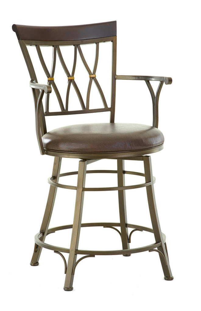 Bali Swivel Counter Height Barstool | Steve Silver Company