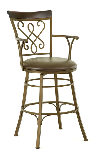 Carmona Swivel Bar Height Barstool | Steve Silver Company
