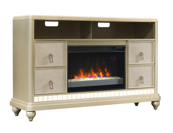 Diva TV Stand With Fireplace | Classic Flame by Twin Star