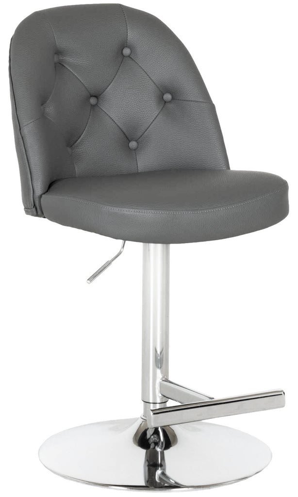 Archer Adjustable Height Barstool in Grey | Whalen Furniture