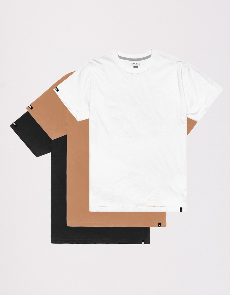 Kace Basic Plain T-Shirt Kit