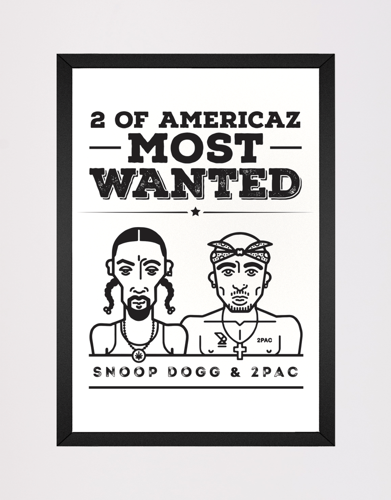 Quadro Kace Americaz Most Wanted