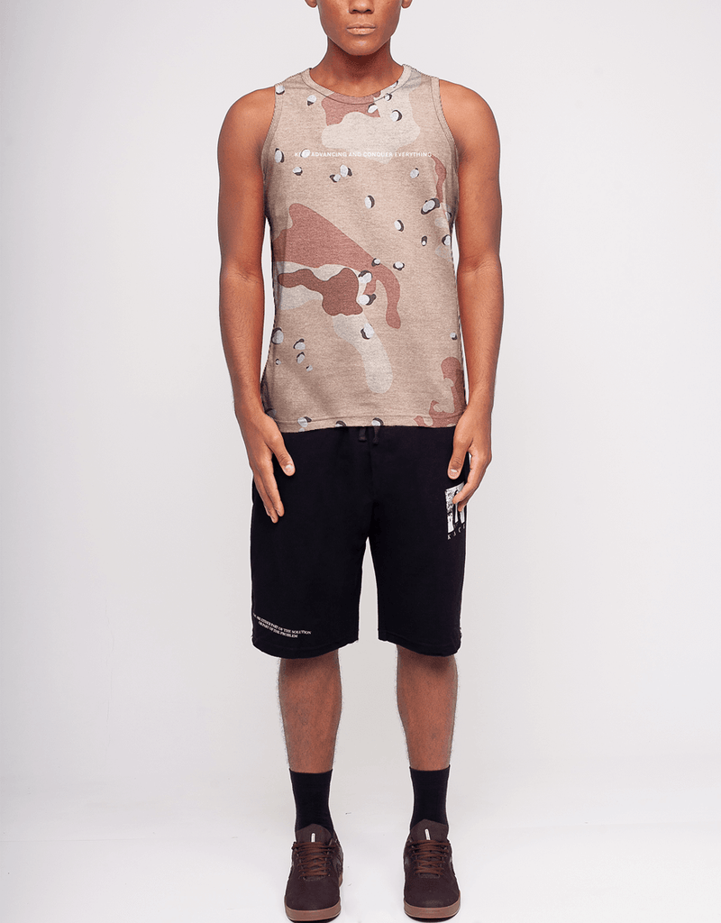 Regata Camuflada Desert Masculina Keep Advancing