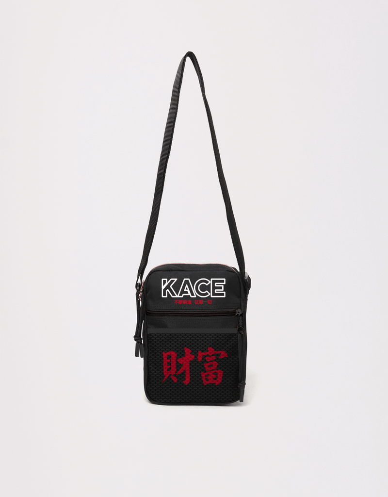 Shoulder Bag Logo Black Kace