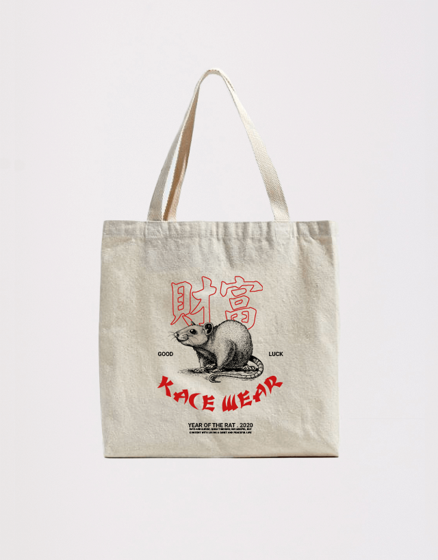 Tote Bag Year of the Rat Kace