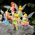 6 piece Tinkerbell and Fairy Friends Decorative Set-American Aura