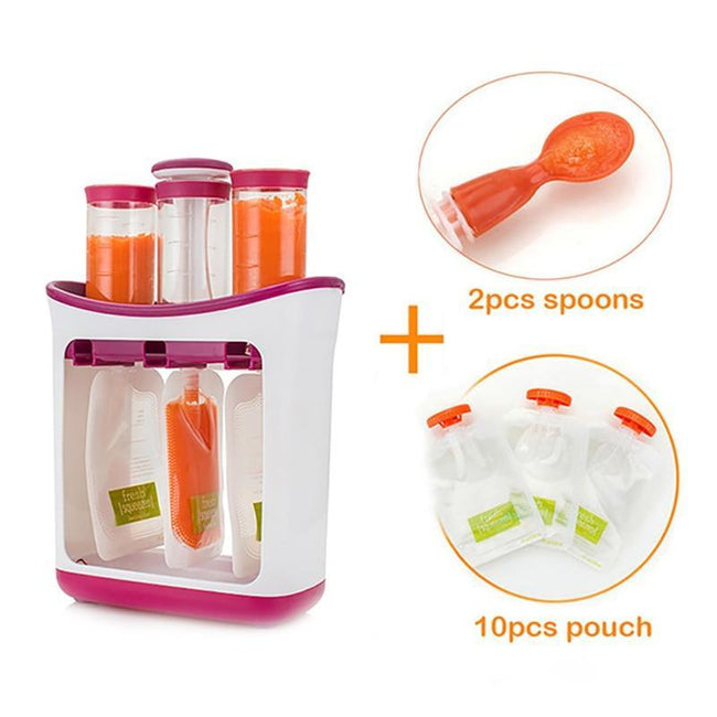 Fresh Baby Food Storage Container Bags-American Aura