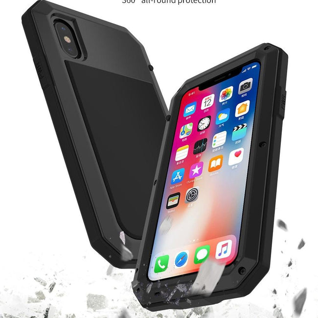 Heavy Duty Protection Metal Aluminum phone Case-American Aura