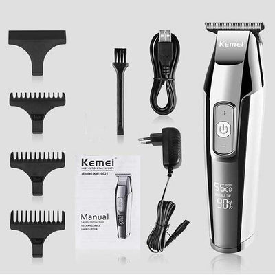 Kemei Barber Professional Hair Clipper For Men-American Aura
