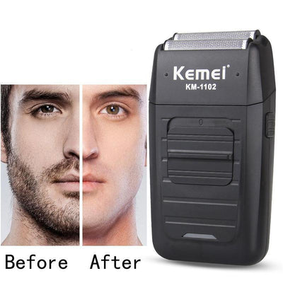 Kemei Rechargeable Cordless Shaver For Men-American Aura