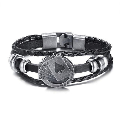 Lucky Deck of Cards Bracelet-American Aura