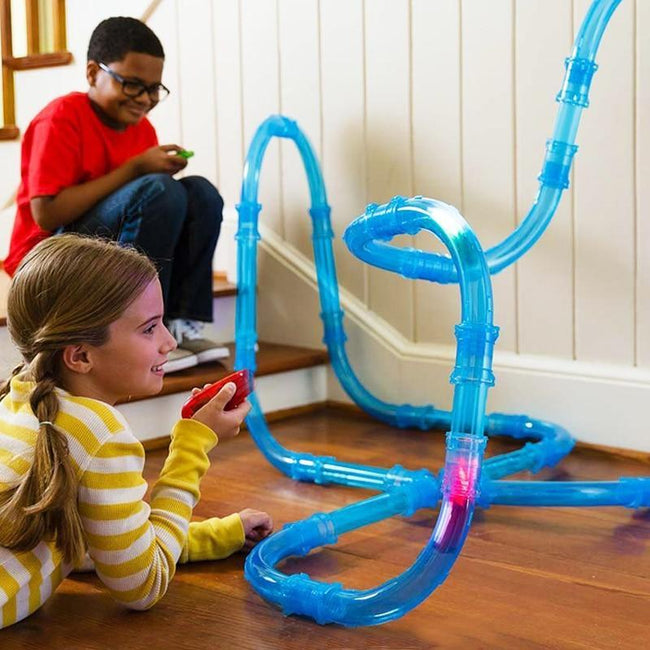 Pipe Racing Track Set with Remote and Lights-American Aura