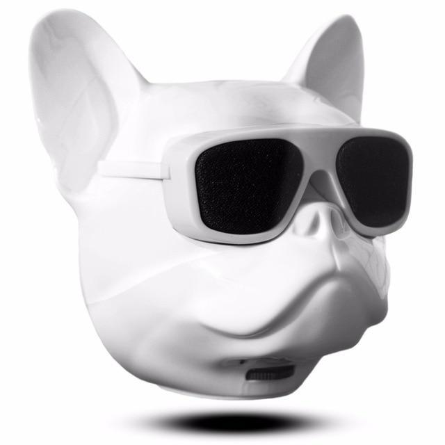 Portable Mini French Bulldog Bluetooth Speaker-American Aura