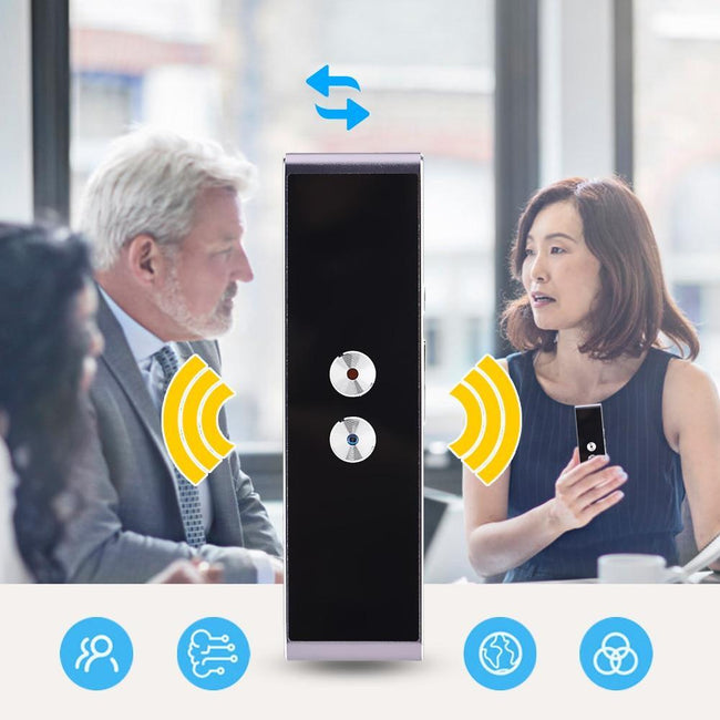 Portable Smart Voice and Multi-Language Translator-American Aura