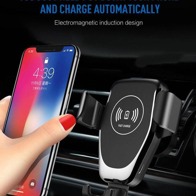 QAQFIT Fast Wireless Car iPhone Charger-American Aura