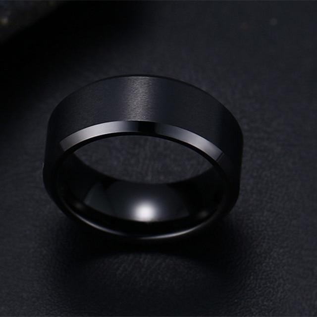 Titanium Men's Ring-American Aura
