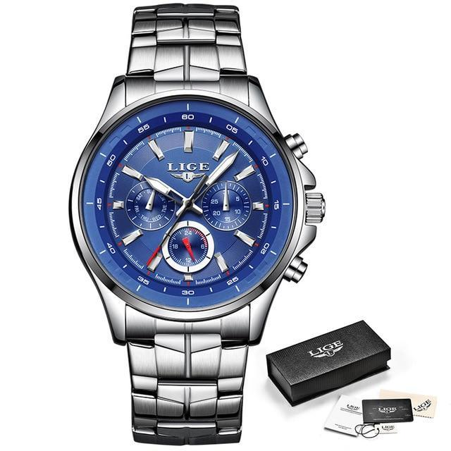 Water Resistant Quartz Men's Sport Watch-American Aura