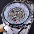 Water Resistant Steel Wrist Watch-American Aura