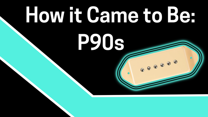 How it Came to Be: The P-90 Pickup