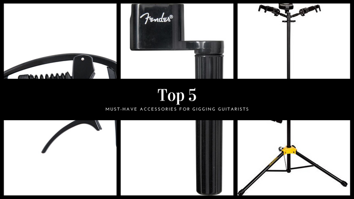 Top 5 Must-Have Accessories for Gigging Guitarists