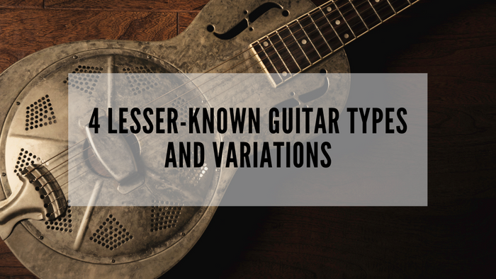 4 Lesser-Known Guitar Types and Variations