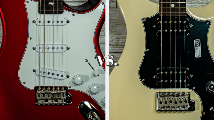 Humbuckers vs Single Coils (the basics)