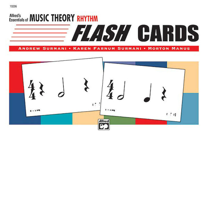 Alfred's Essentials of Music Theory Rhythm Flash Cards - Octave Music Store