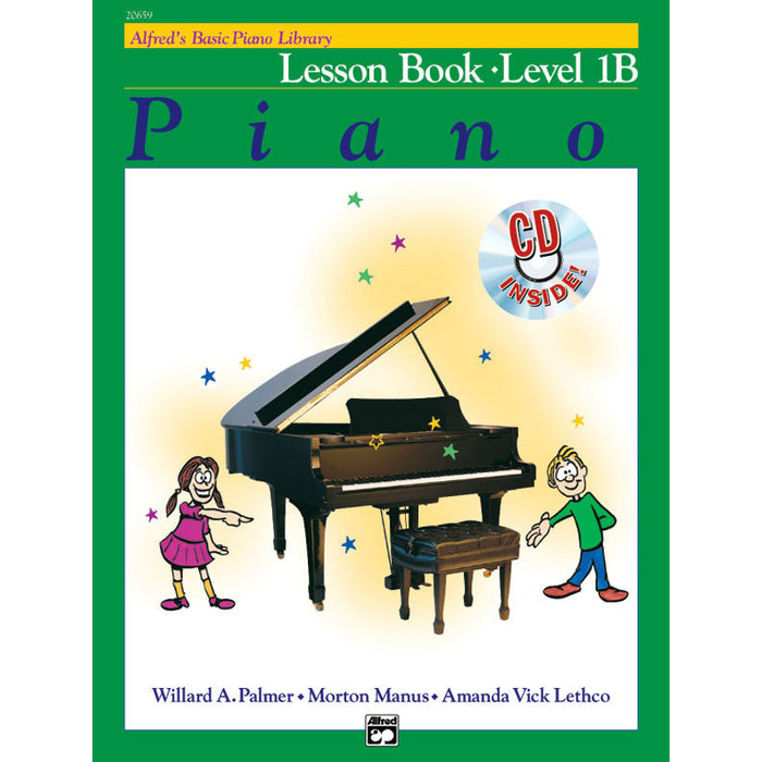 Alfred's Basic Piano Library Lesson Book - Level 1B - Octave Music Store