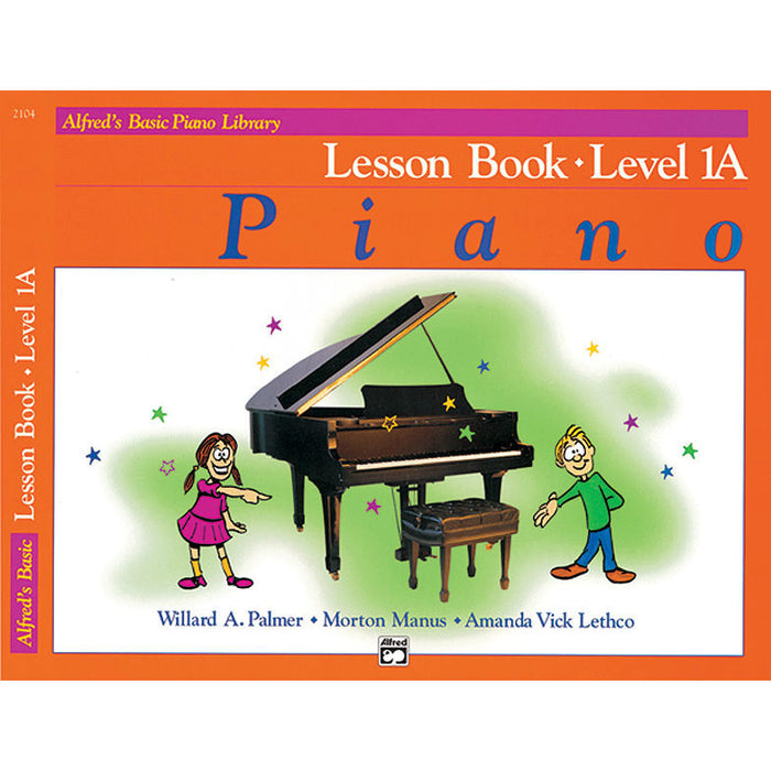Alfred's Basic Piano Library Lesson Book Level 1A - Octave Music Store